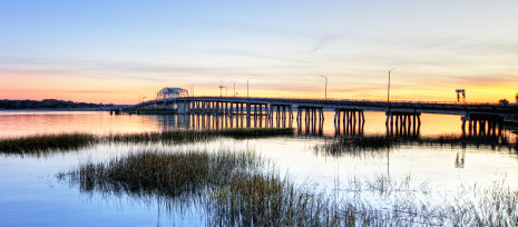 Draw bridge in beaufort sc