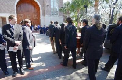 Pat Conroy funeral